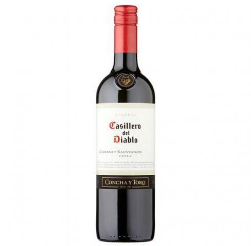 вино Касиеро дел Диабло 750мл Каберне Совиньон Резерва