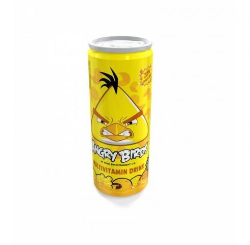 плодова напитка Angry Birds 250мл Мултивитамин