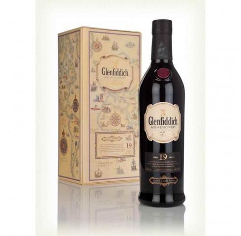 уиски Гленфидиш 700мл 19г Мадейра Каск с КУТИЯ