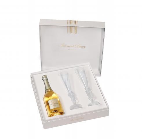 шампанско Дютц 750мл Амур де Кюве с 2 ЧАШИ КУТИЯ