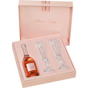 шампанско Дютц 750мл Амур де Розе Кюве с 2 чаши КУТИЯ m1