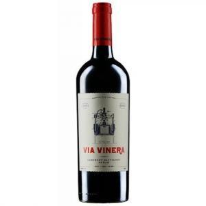 вино Виа Винера 750мл Каберне Совиньон и Сира 2016г m1
