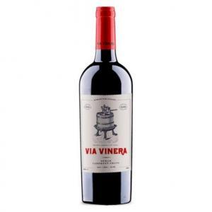 вино Виа Винера 750мл Сира и Каберне фран 2017г m1
