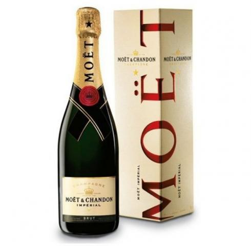 Moet & Chandon 750ml Brut  Imperial gift box