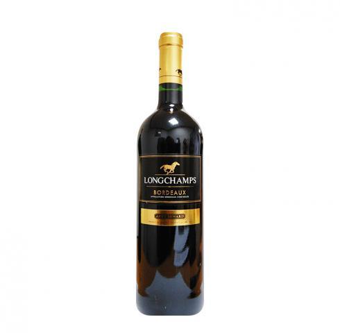 вино Лонгшампс Бордо Роудж 2014г 750мл