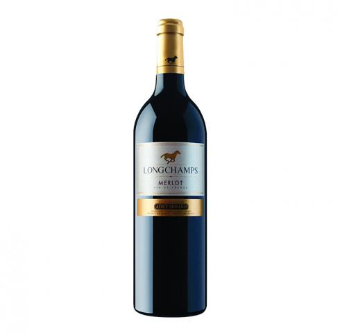 вино Лонгшампс Мерло 2016г 750мл