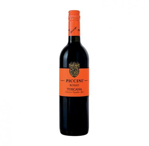 вино Пичини Ориндж Лейбъл Росо Тоскана ИГТ 2018г 750мл
