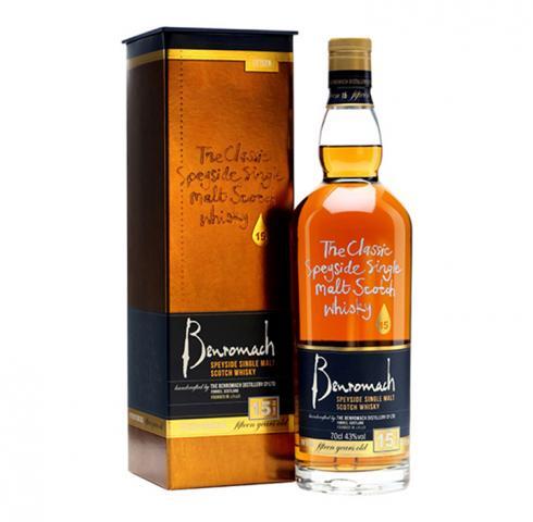 Уиски Бенромах 15г. 700мл
