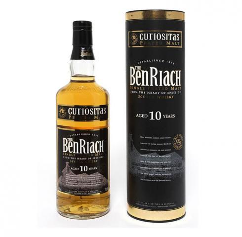 Уиски БенРиах 10г Кюриоситъс 700мл