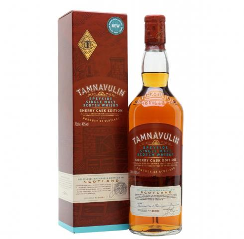 уиски Тамнавулин 700мл Шери КАСК