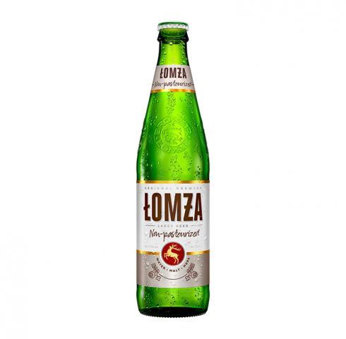 бира Ломжа Непастьоризирана 500мл