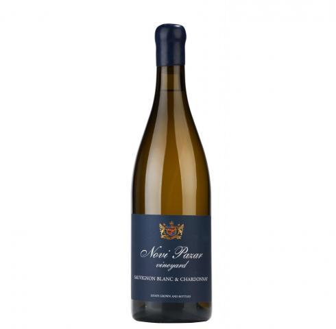 вино Нови Пазар 750мл Совиньон блан и Шардоне ПРЕМИУМ