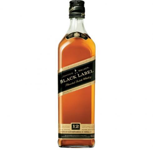 уиски Джони Уокър 1л 12 год. блек лейбъл