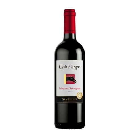 Вино Гато Негро Каберне Совиньон 2017г 375мл