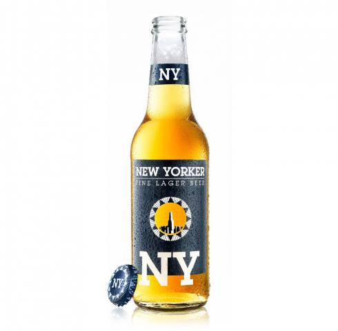 бира Ню Йоркър 330мл Лагер