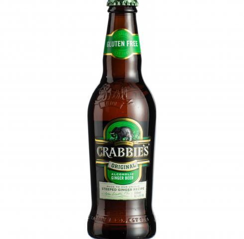 бира Крабис 330мл Джинджър биър Оригинал