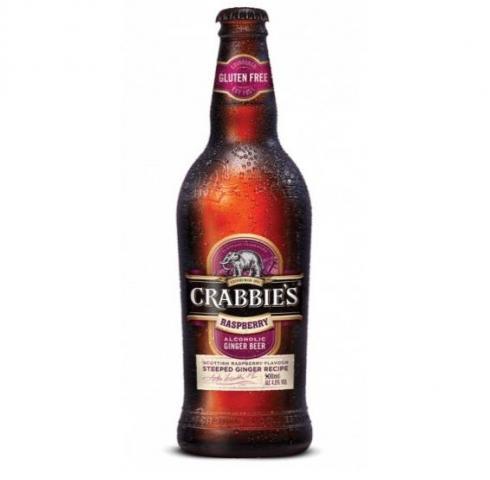бира Крабис 330мл Джинджър биър МАЛИНА