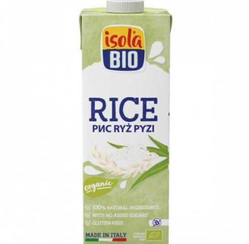БИО алтернативна напитка Исола 1л Ориз без Глутен