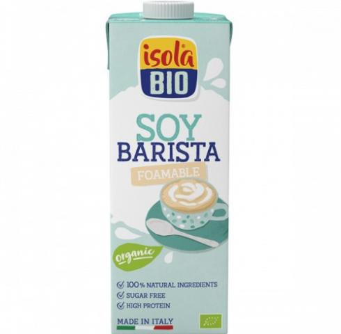 БИО алтернативна напитка Исола 1л Бариста Соева