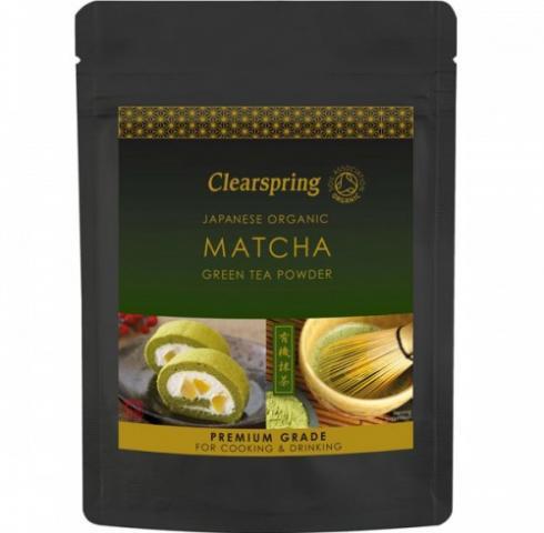 Био чай Клиърспринг 40гр Зелен Матча