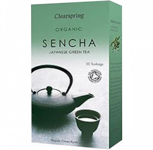 Био чай Клиърспринг 36г Сенча Зелен