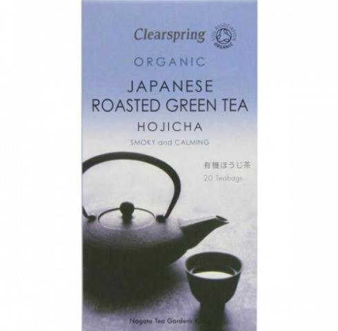 Био чай Клиърспринг 40г Ходжица Печен Зелен чай