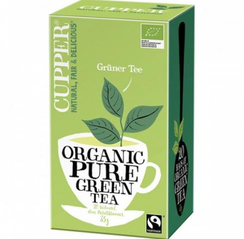 Био чай Купър 35г Зелен