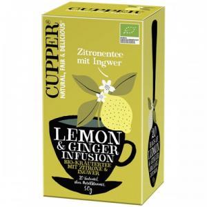 Био чай Купър 50г Лимон и Джинджифил m1