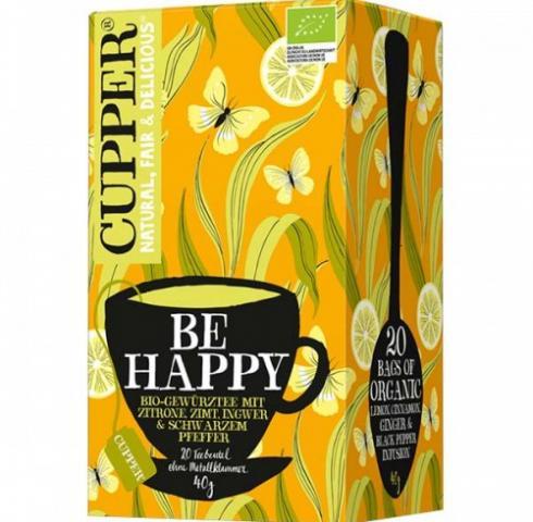 Био чай Купър 40г Щастие