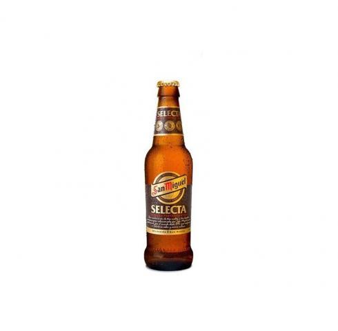 бира сан мигел селекта 330мл бутилка