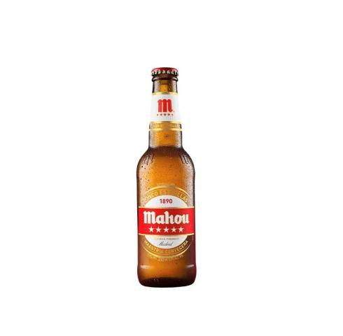 бира маоу 5 звезди 330мл бутилка