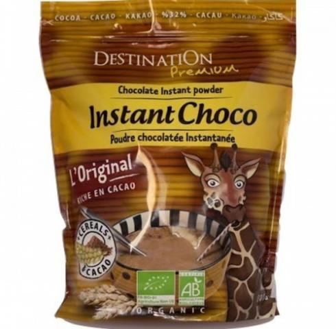 БИО разтворима шоколадова напитка Дестинейшън 400г