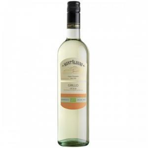 БИО вино Монт Албано 750мл Грилло Бяло m1