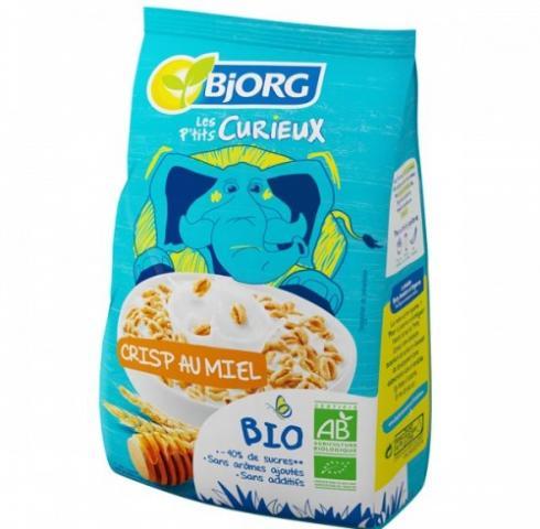 БИО зърнена закуска BJORG 220г с МЕД