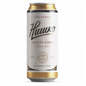 бира Нишко пиво 500мл КЕН m1