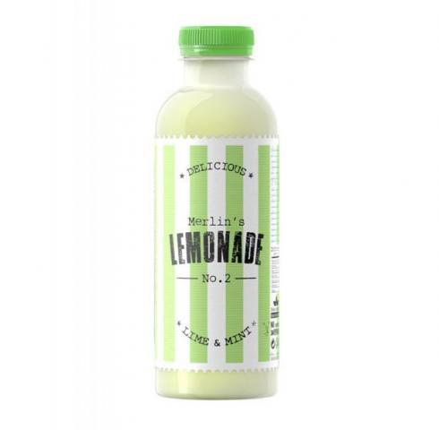плодова напитка Лимонада №2 600мл Лайм и Мента