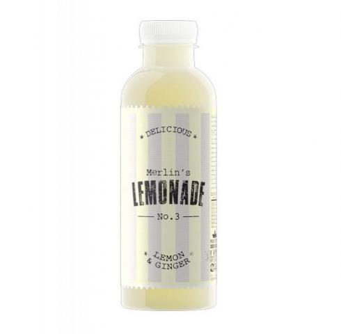 плодова напитка Лимонада №3 600мл Лимон и Джинджифил