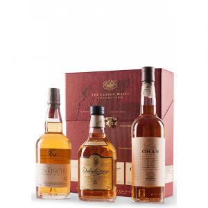 Колекция Класик Малц Уиски 3 бр х 200мл - Обан 14г, Далуини 15г,Гленкинчи 12г m1