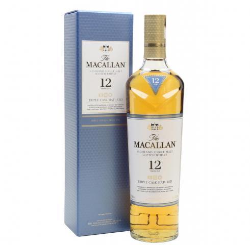 уиски Макалан 700мл 12г Трипъл Каск Матуред