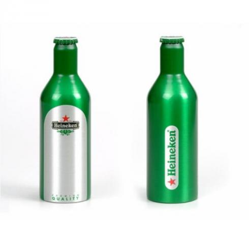 бира Хайнекен 330мл метална бутилка