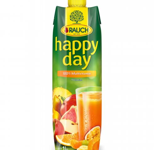натурален сок Раух Хепи Дей 1л Мултивитамин 100%