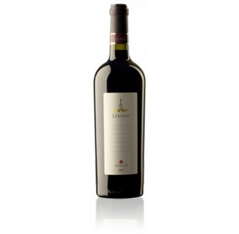 вино Левент 750мл Мерло