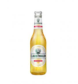 безалкохолна бира Клаусталер Лимон Премиум 330мл БУТИЛКА