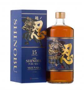 японско уиски Шинобу 700мл Пюр Малц 15г