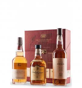 Колекция Класик Малц Уиски 3 бр х 200мл - Обан 14г, Далуини 15г,Гленкинчи 12г