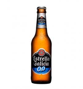 бира Естрела Галисия 0,0 330мл БУТИЛКА