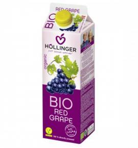 БИО сок Холингер 1л Червено грозде