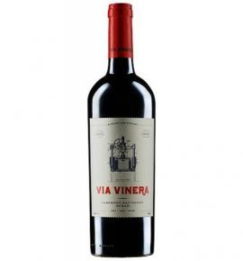вино Виа Винера 750мл Каберне Совиньон и Сира 2016г
