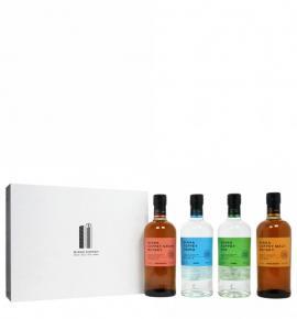 Уиски НИККА КОФИ СЕТ 700мл х 4бр. кутия малц, грейн, джин, водка