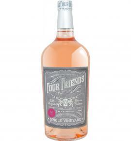 вино Фоур Френдс 1л Розе 2019